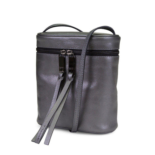 North-South Top Zip Canteen Crossbody