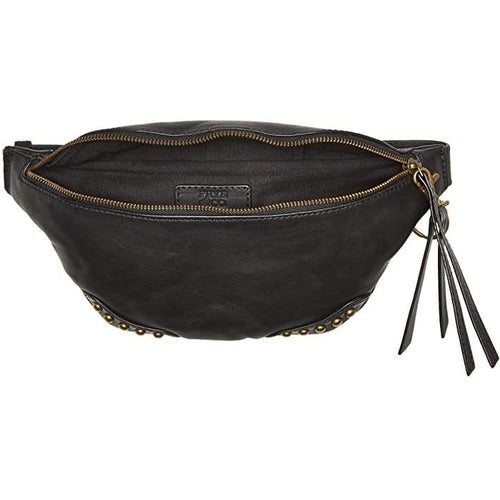 Odessa Studded Washed Leather Belt Bag