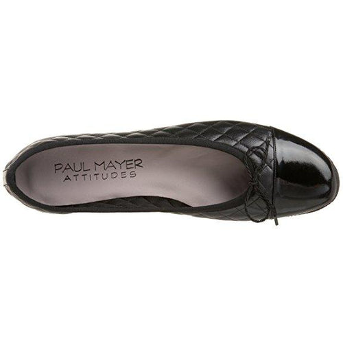 Paul Mayer/Attitudes Women's Cozy Quilted Ballet Flat-Shoes-Paul Mayer-5.5-ShoeShock