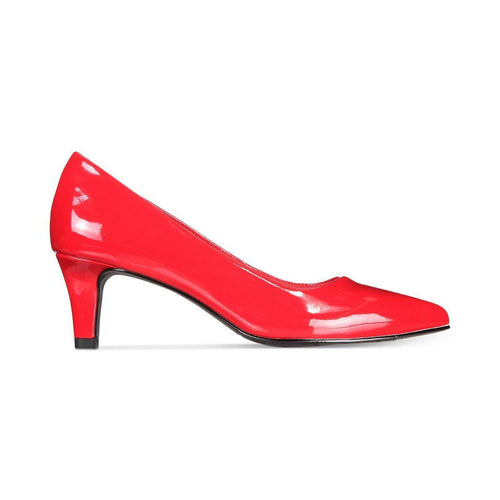 Easy Street Women's Pointe Dress Pump Red-Shoes-Easy Street-6-ShoeShock