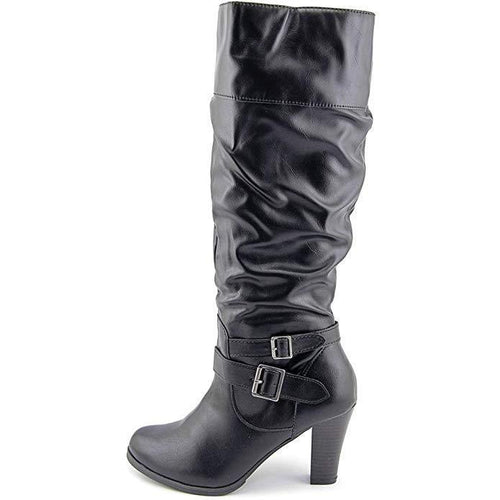 Style & Co. Rudyy Womens Slouched Boots Black-Shoes-Style & Co.-8.5-ShoeShock