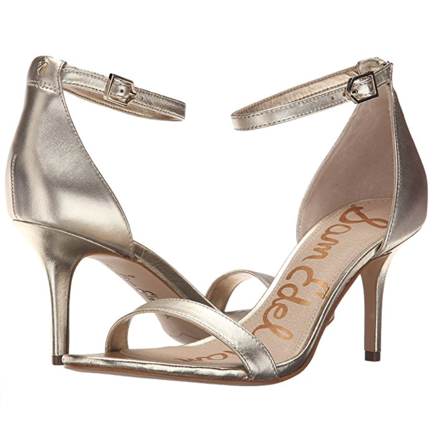 c7dd31478d9 Sam Edelman Sam Edelman Patti Metallic Ankle Strap Sandals-Shoes-Sam Edelman -6