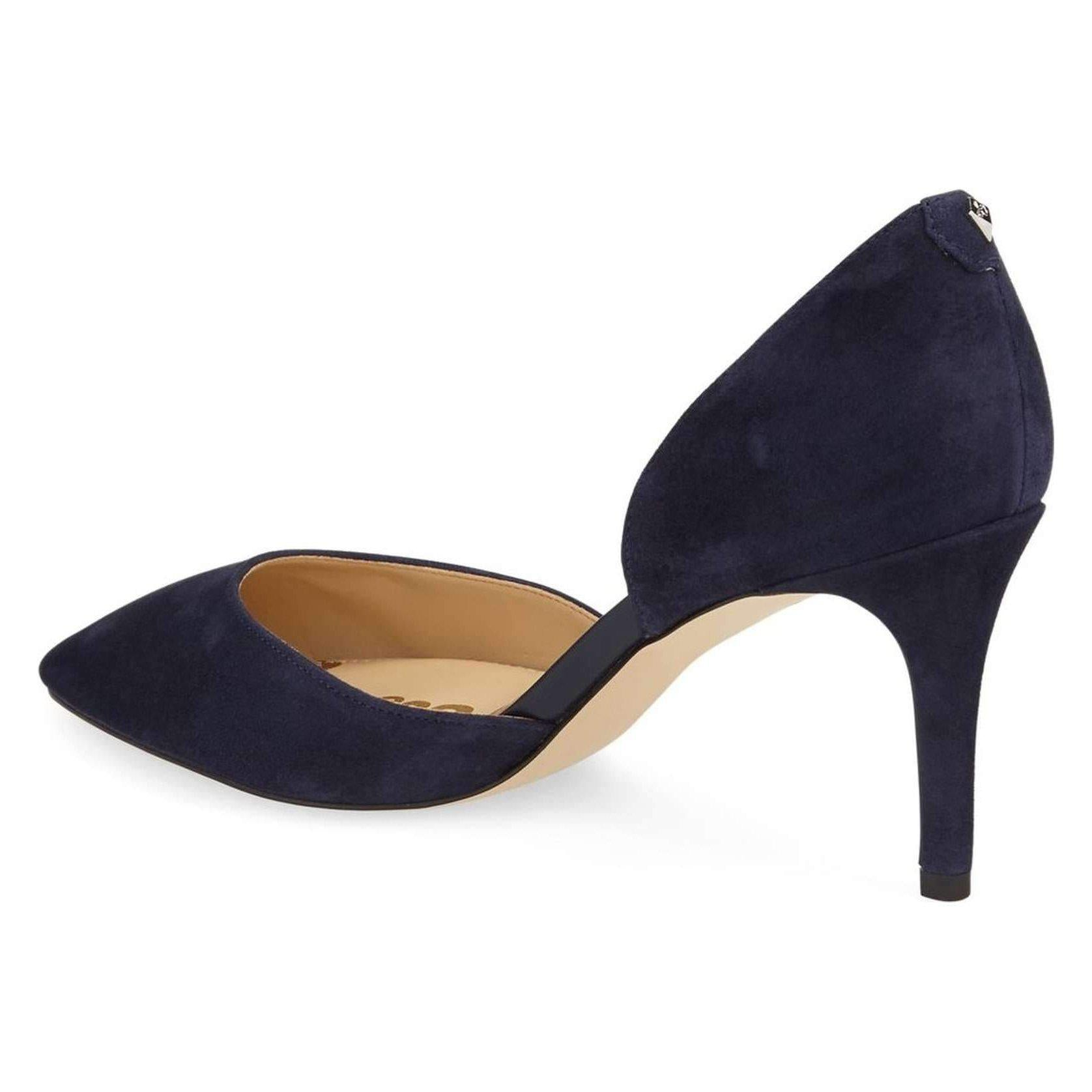 77766ef12875 Sam Edelman Women's Telsa D'Orsay Pump - Navy-Shoes-Sam Edelman-