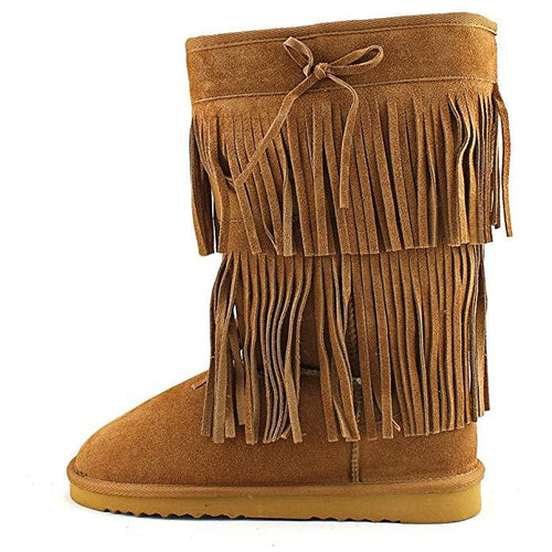 Senecah Cold-Weather Fringe Boots-Shoes-American Rag-6-ShoeShock
