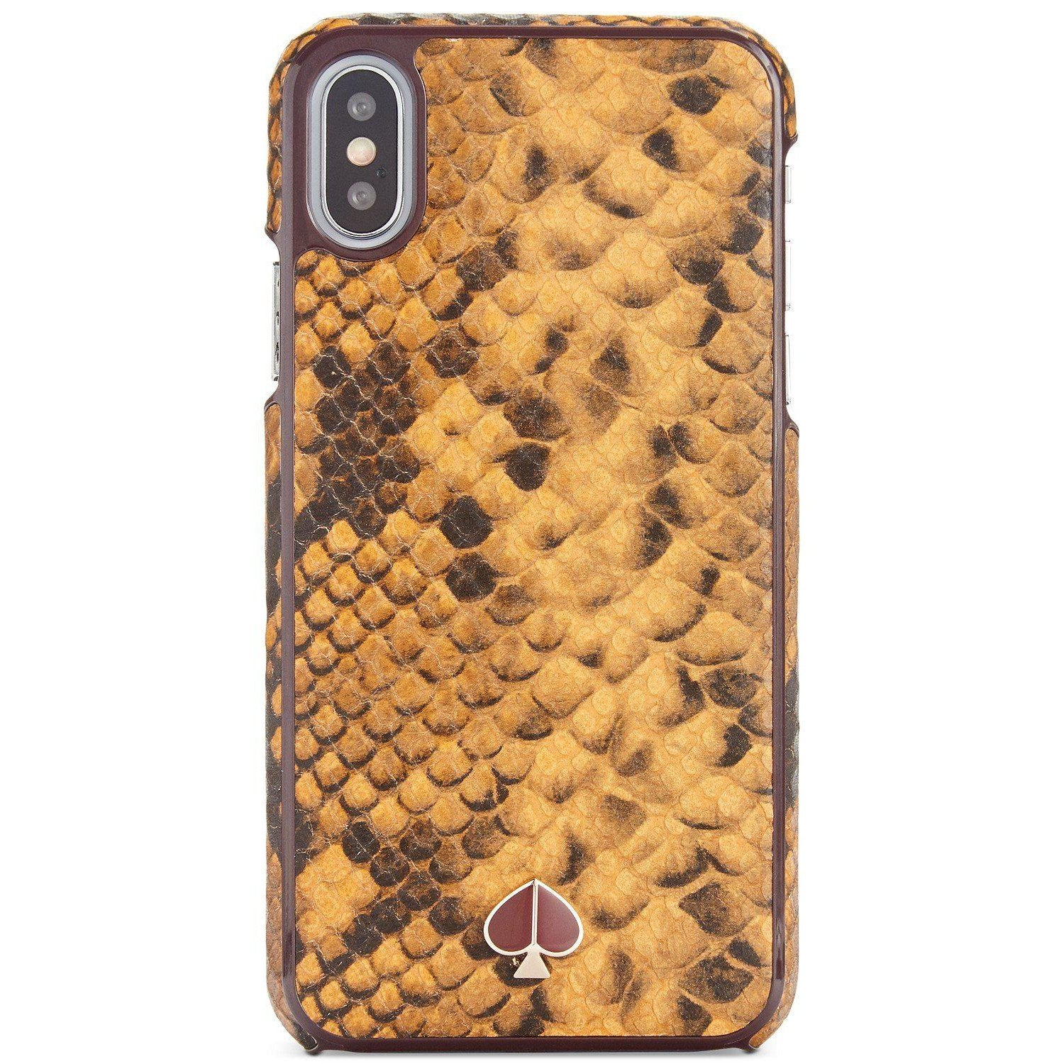 Snake Embossed XS iPhone Case
