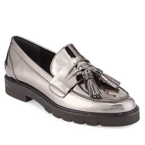 Stuart Weitzman Manila Leather Tassel Loafer-Shoes-Stuart Weitzman-6-ShoeShock