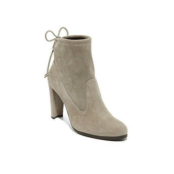 Stuart Weitzman Mitten Ankle Tie High Heel Booties-Shoes-Stuart Weitzman-6-ShoeShock