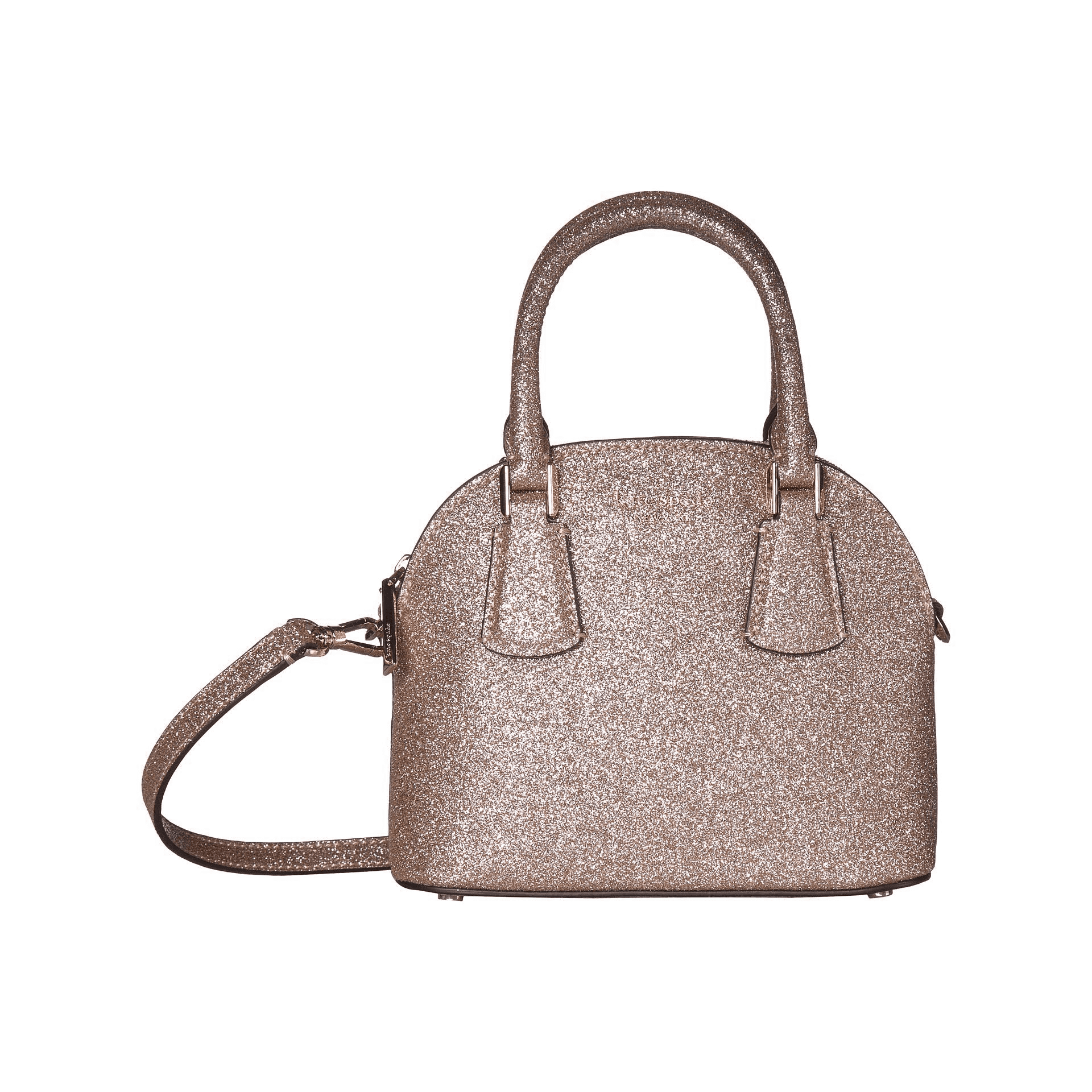 Sylvia Glitter Mini Dome Satchel