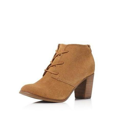 Toms Lunata Lace Up High Heel Booties-Shoes-TOMS-6-ShoeShock