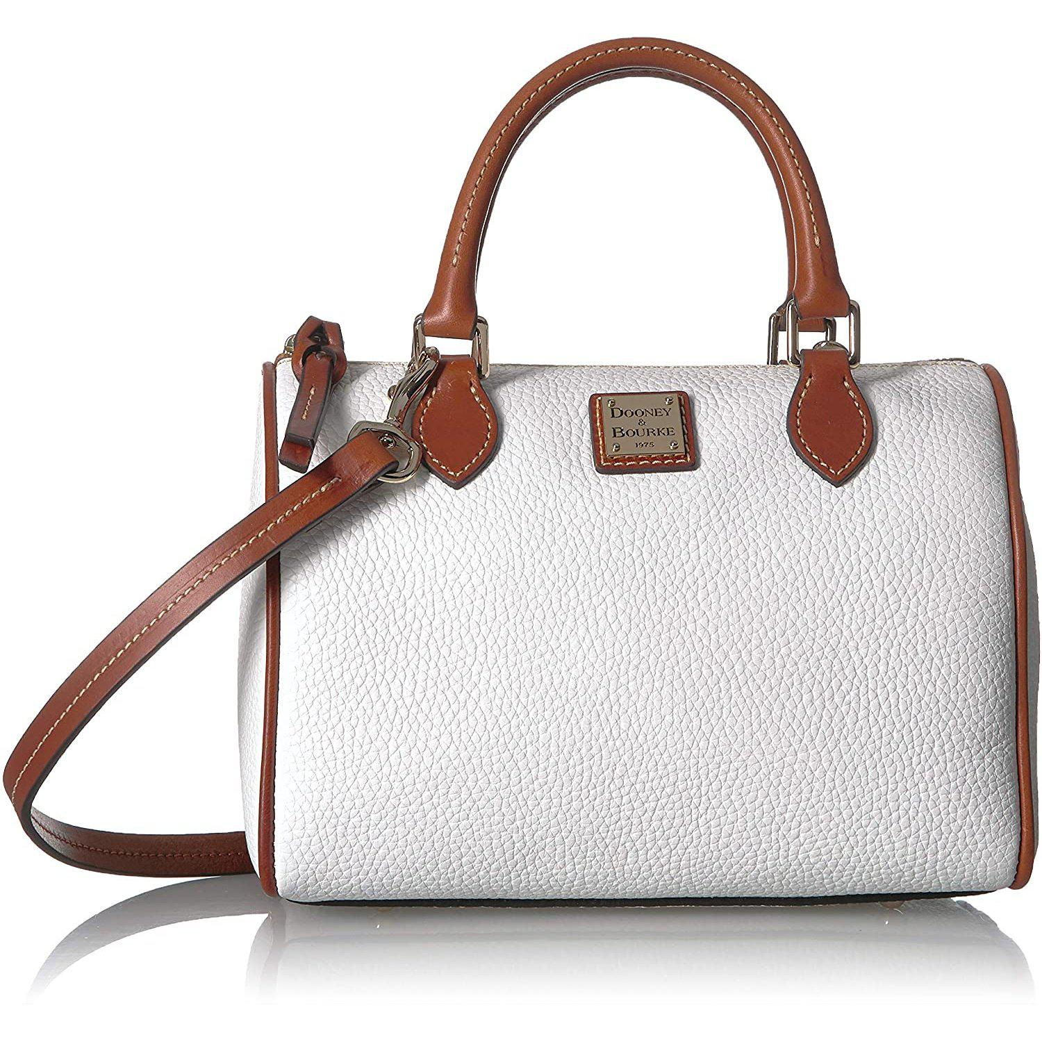 Trudy Pebble Leather Satchel
