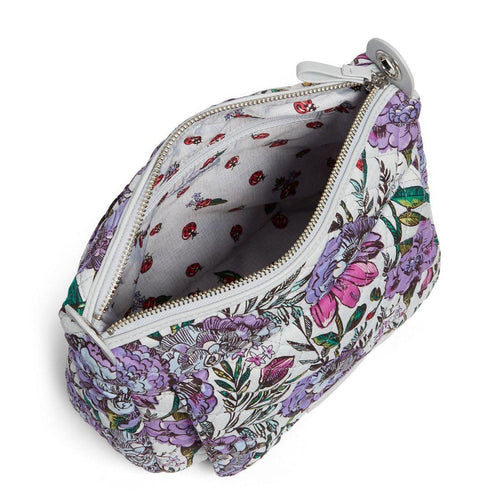 Vera Bradley Carson Mini Shoulder Bag Lavendar/ Meadow