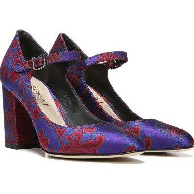 Via Spiga Deanna Satin Mary Jane Moroccan Jacquard Pumps-Shoes-Via Spiga-5.5-ShoeShock