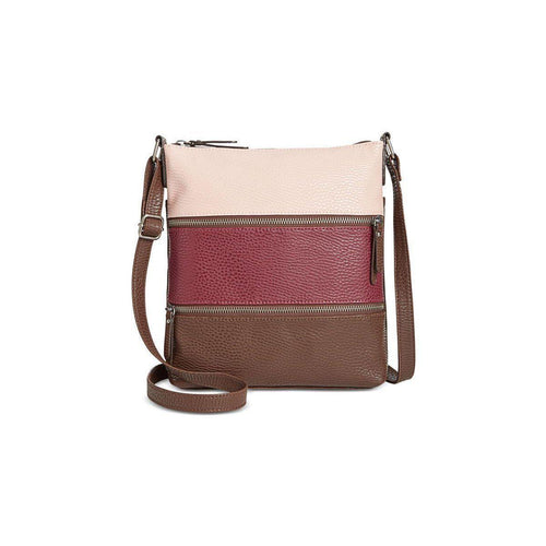Style & Co Vyniisha Multi Zip Crossbody-Handbags & Accessories-Style & Co.-ShoeShock