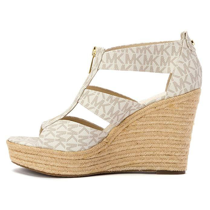 1f9c958c899e Women s MICHAEL Michael Kors  Damita  Wedge Sandal Vanilla-Shoes-Michael  Kors-