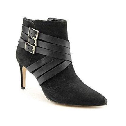 ZING Leather Women's Pointed Toe Ankle Fashion Boots-Shoes-BCBGeneration-9-ShoeShock
