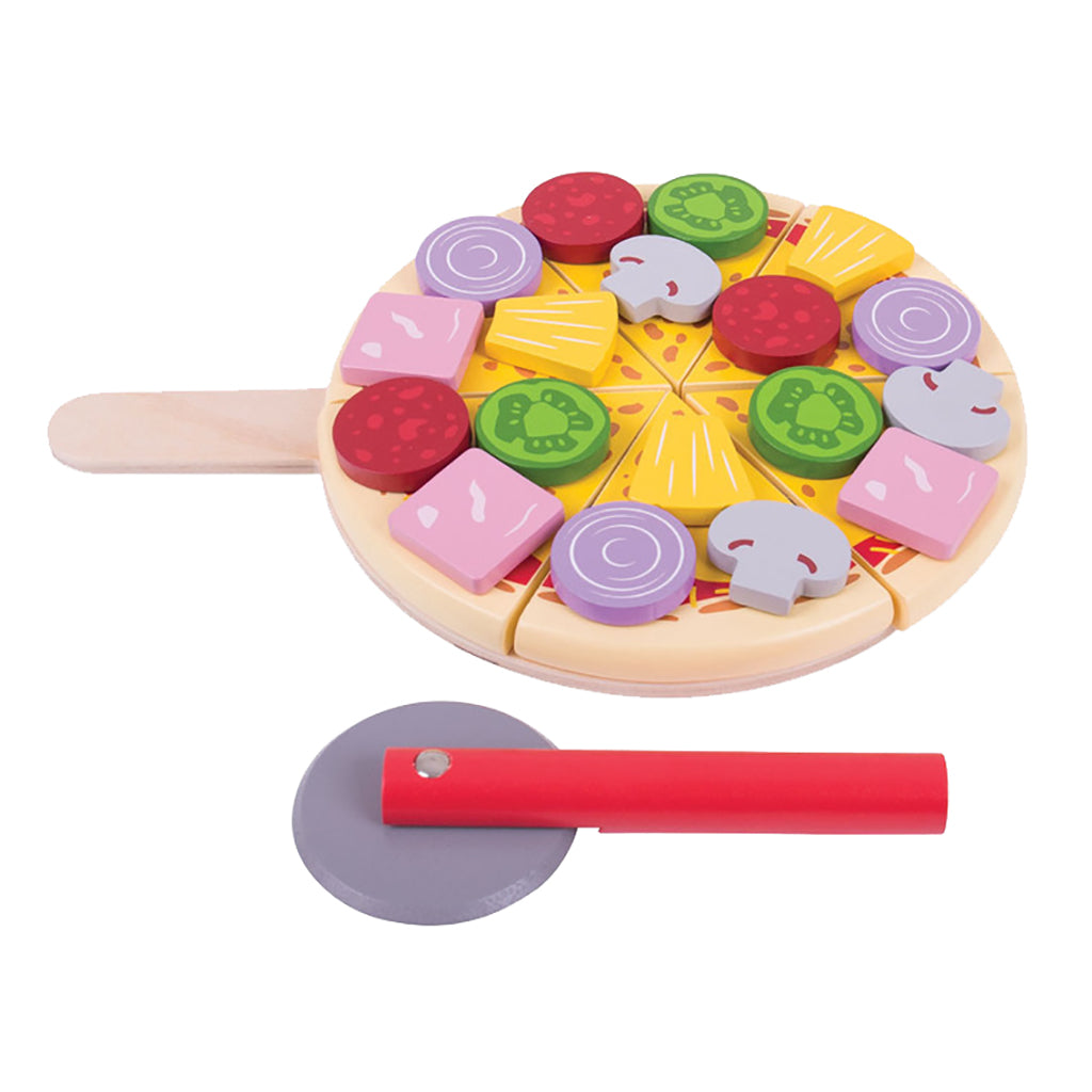 BigJigs - Wooden Cutting Pizza