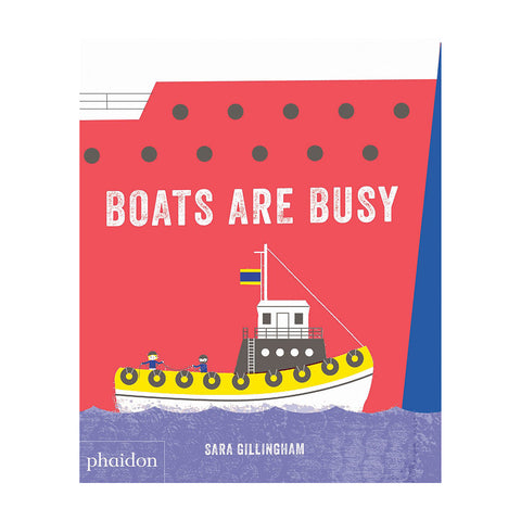 Boats Are Busy - Book Cover