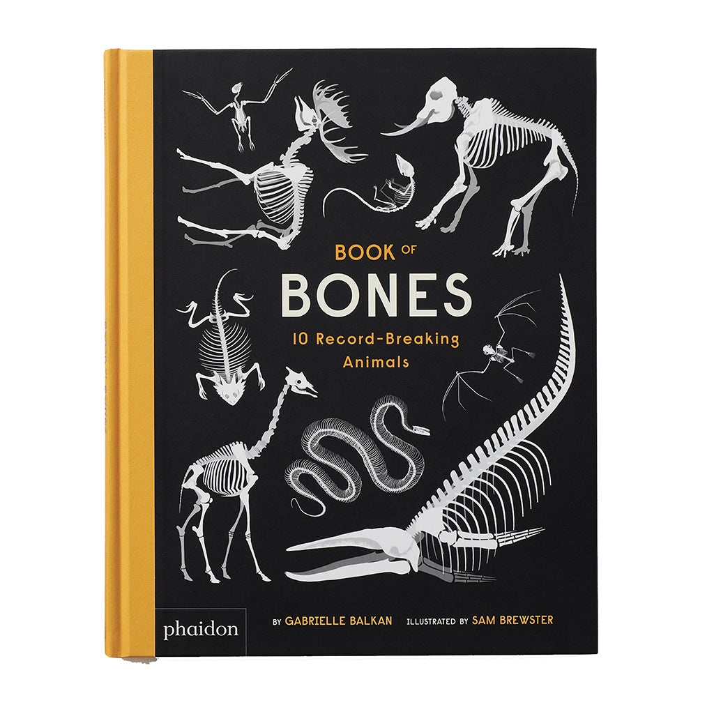 Book of Bones: 10 Record-Breaking Animals - Cover