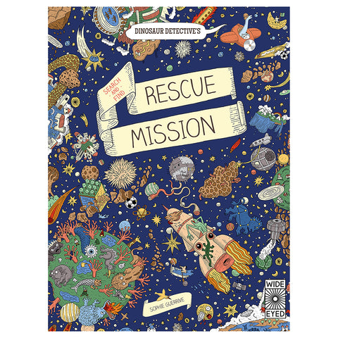 Dinosaur Detective's Search and Find Rescue Mission - Book Cover