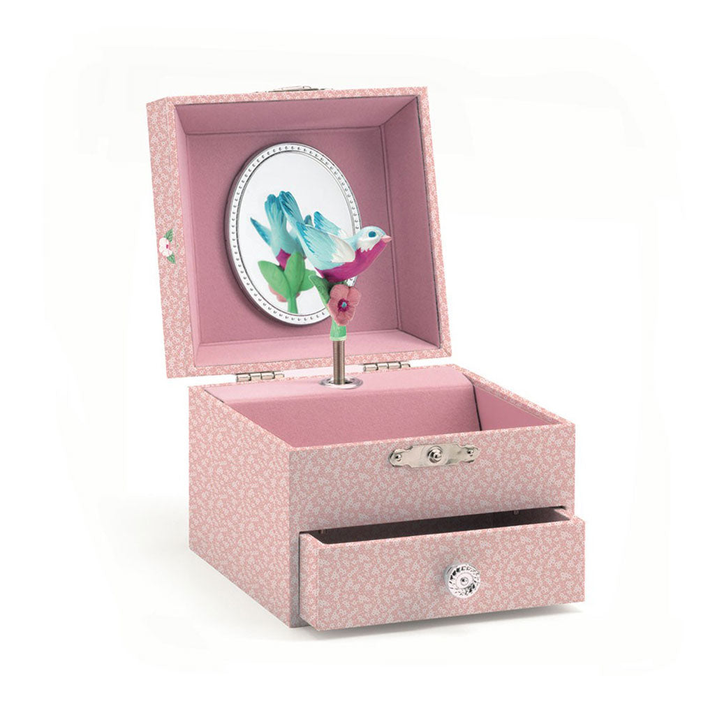 Djeco - Finch's Tune Musical Jewelry Box