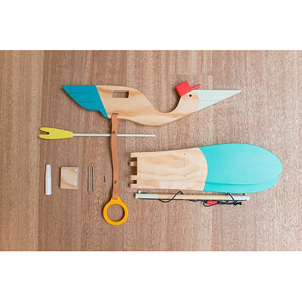 Eguchi - Wooden Baby Bird Mobile - Assembly Required