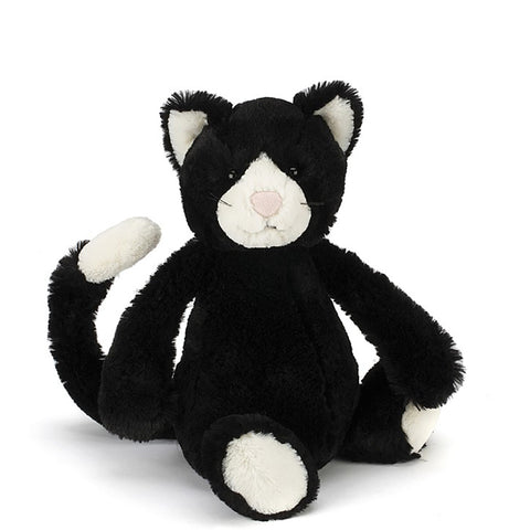 Jellycat - Black and White Cat - Medium