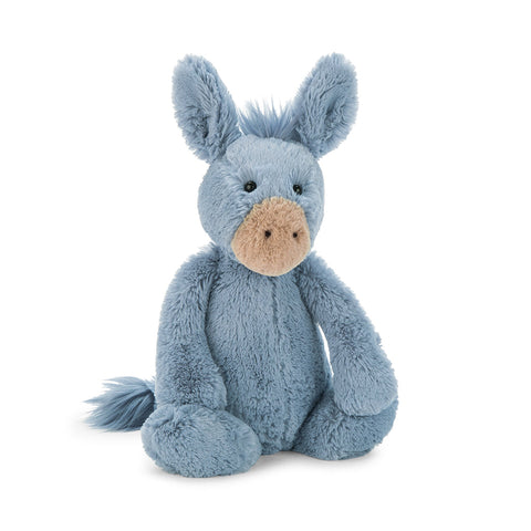 Jellycat - Bashful Blue Donkey - Medium