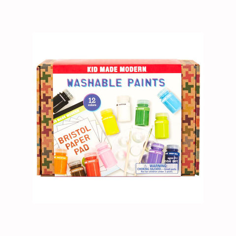 Kid Made Modern - Washable Paint Set - Packaging
