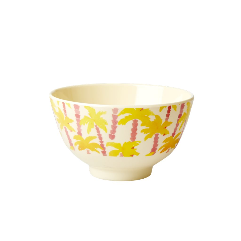 Rice DK - Small Melamine Bowl in Palm Print - Designed in Denmark