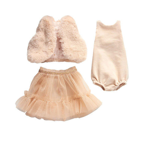 Maileg - Best Friends Clothing - Rose Ballerina Dress with Vest