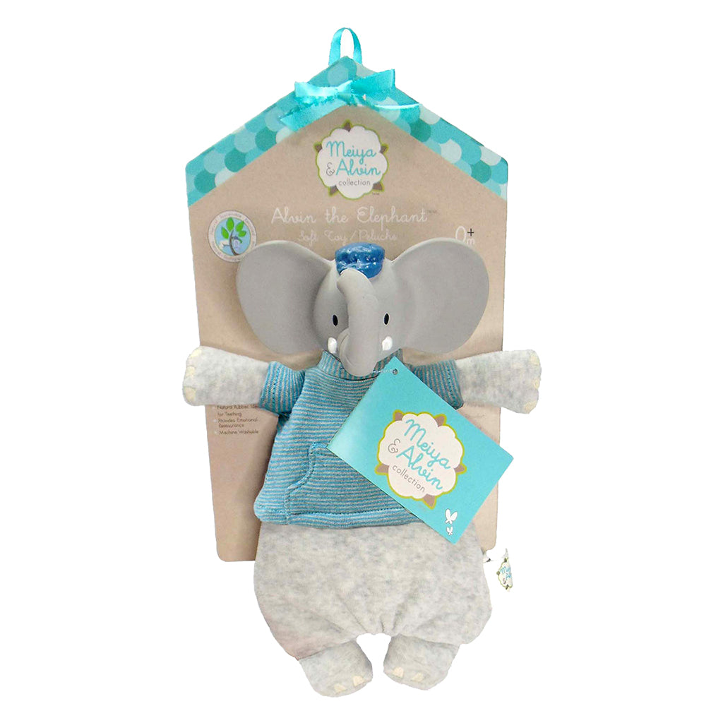 Meiya and Alvin - Alvin the Elephant Teether Toy
