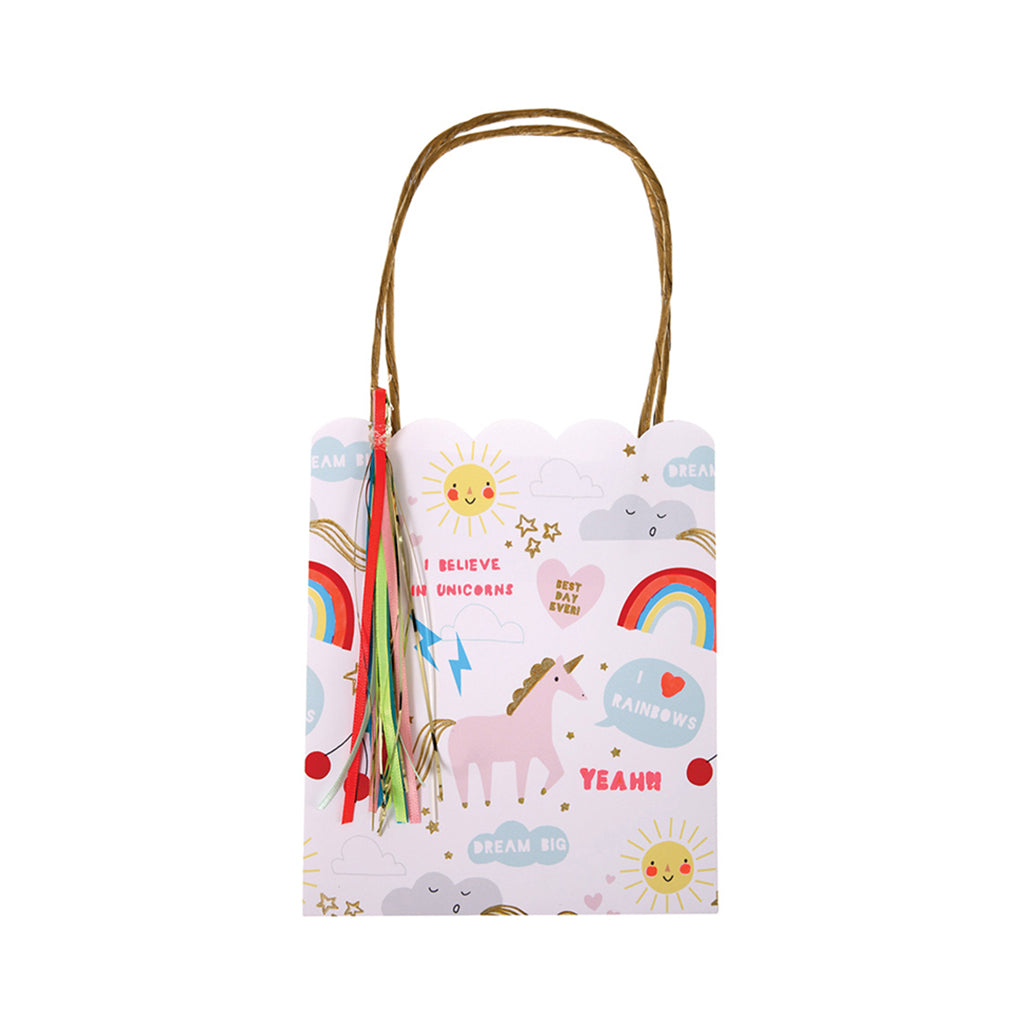 Meri Meri - Rainbow/Unicorn Party Bags