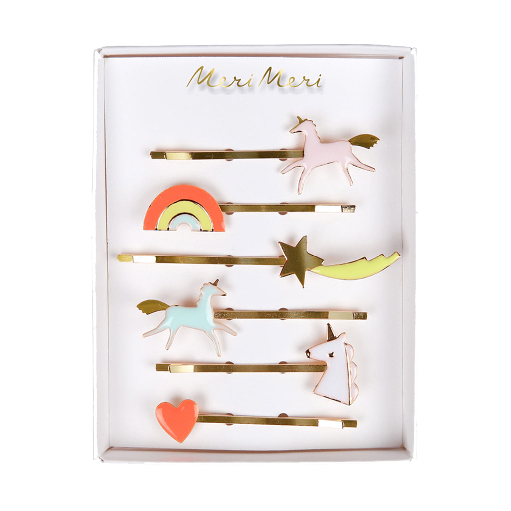 Meri Meri - Unicorn Enamel Hair Pins