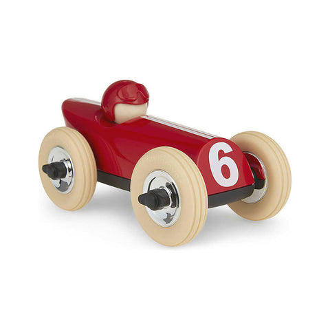 Midi Race Car Buck - Red w/Creme