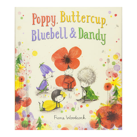 Poppy, Buttercup, Bluebell & Dandy - Book Cover