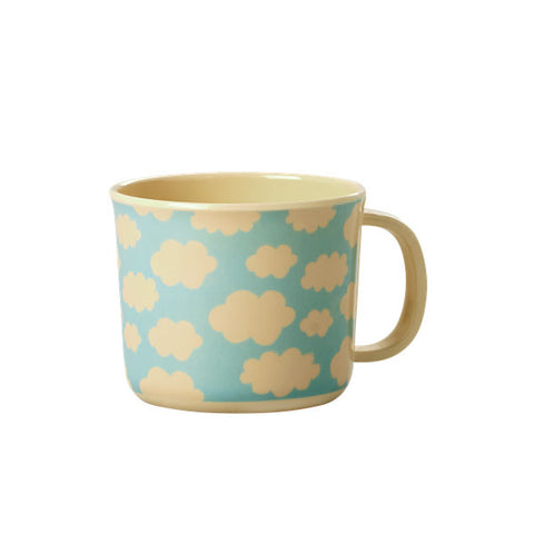 RICE baby cup - clouds print