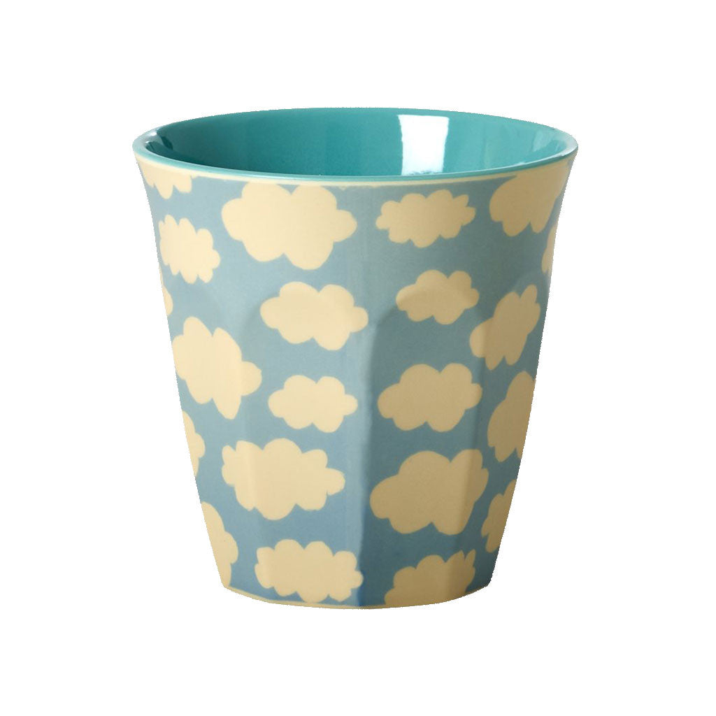 RICE - Melamine Print Cup - Clouds