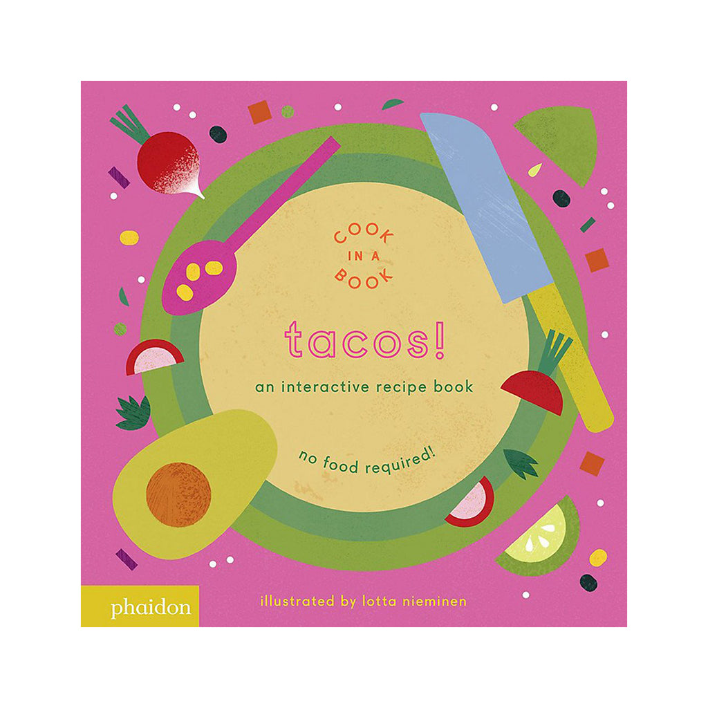 Tacos! An Interactive Recipe Book - Cover