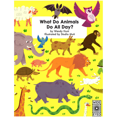 What Do Animals Do All Day? - Book Cover