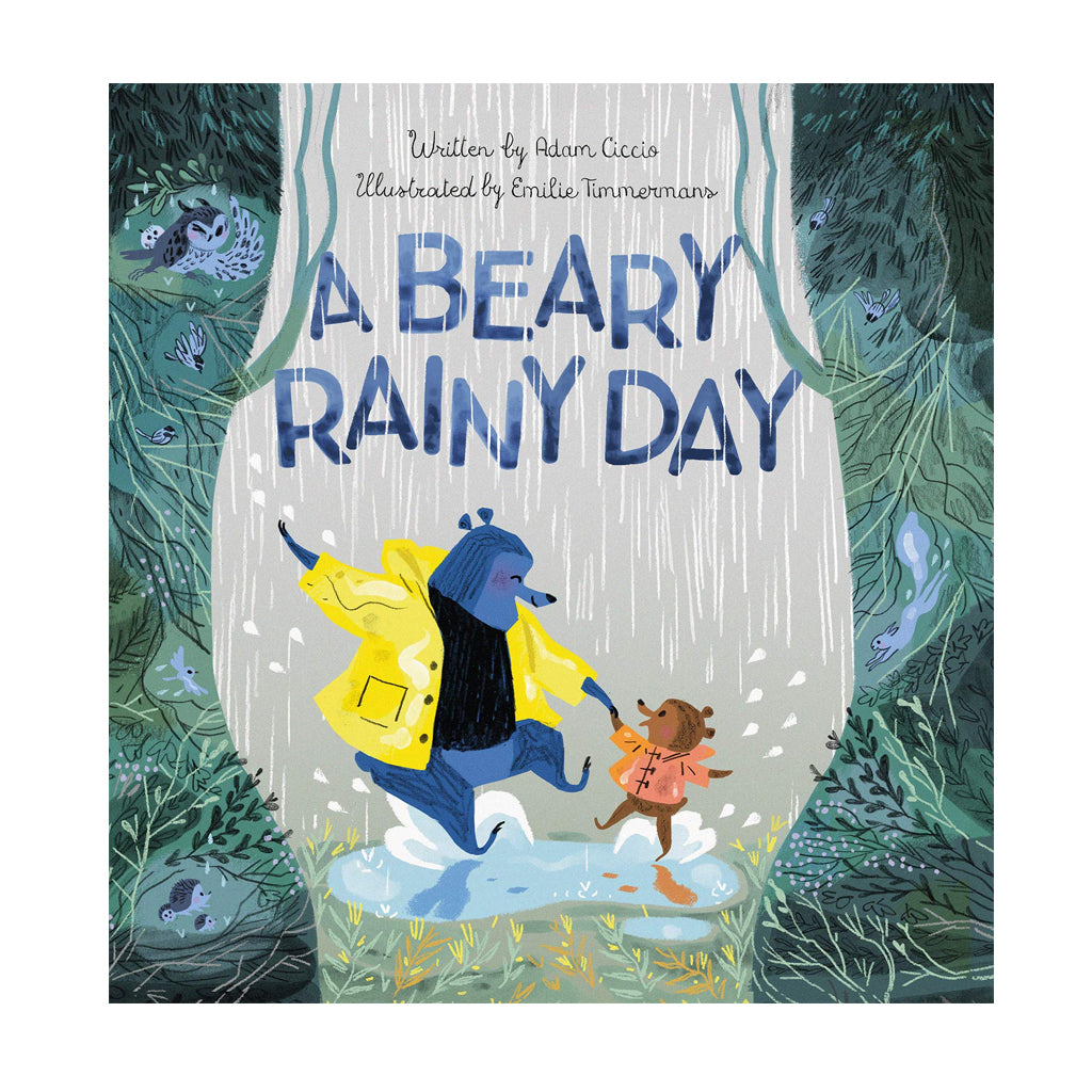A Beary Rainy Day by Adam Ciccio | Mapamundi Kids