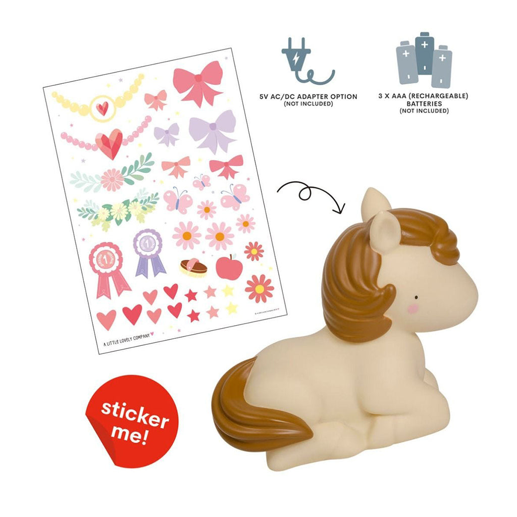 A Little Lovely Company - Horse Night Light | Mapamundi Kids
