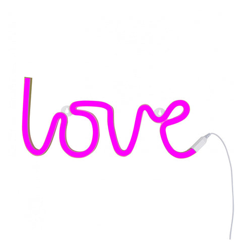 Love Neon Light- Pink