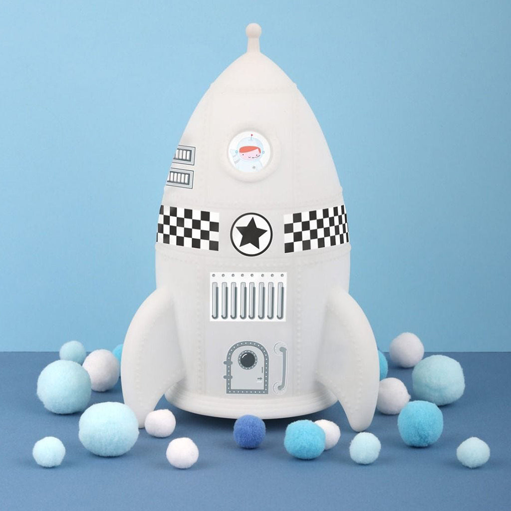 A Little Lovely Company - Rocket Night Light | Mapamundi Kids