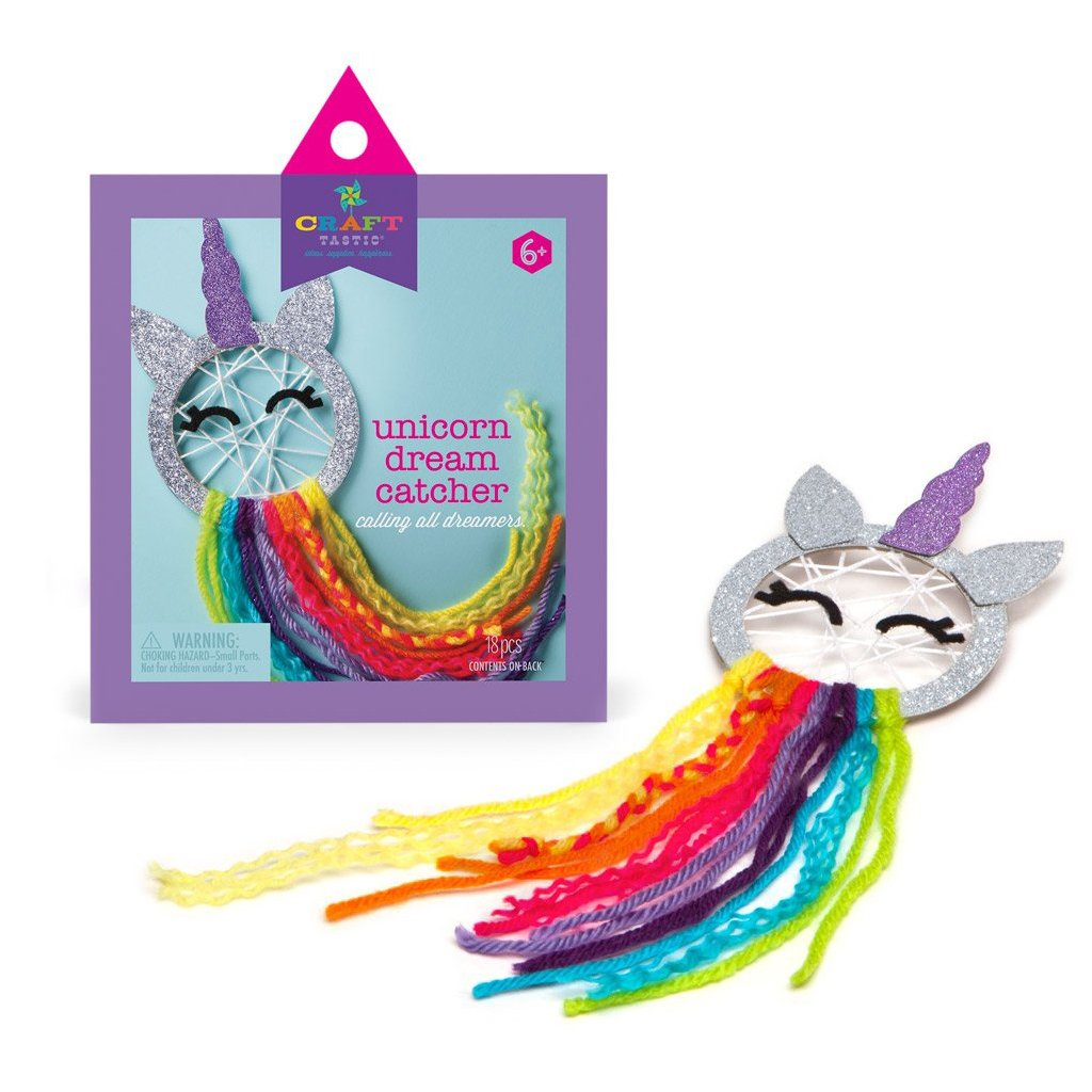 Ann Williams - Craft-Tastic Unicorn Dream Catcher