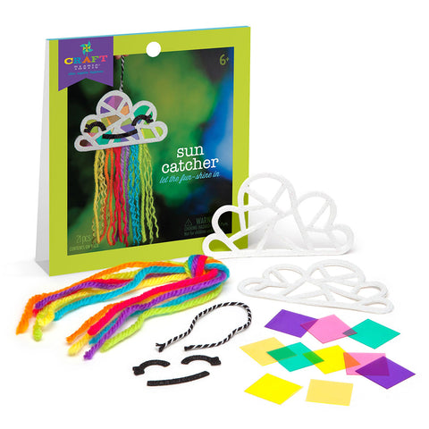 Ann Williams - DIY Cloud Sun Catcher Craft-Tastic Kit contents