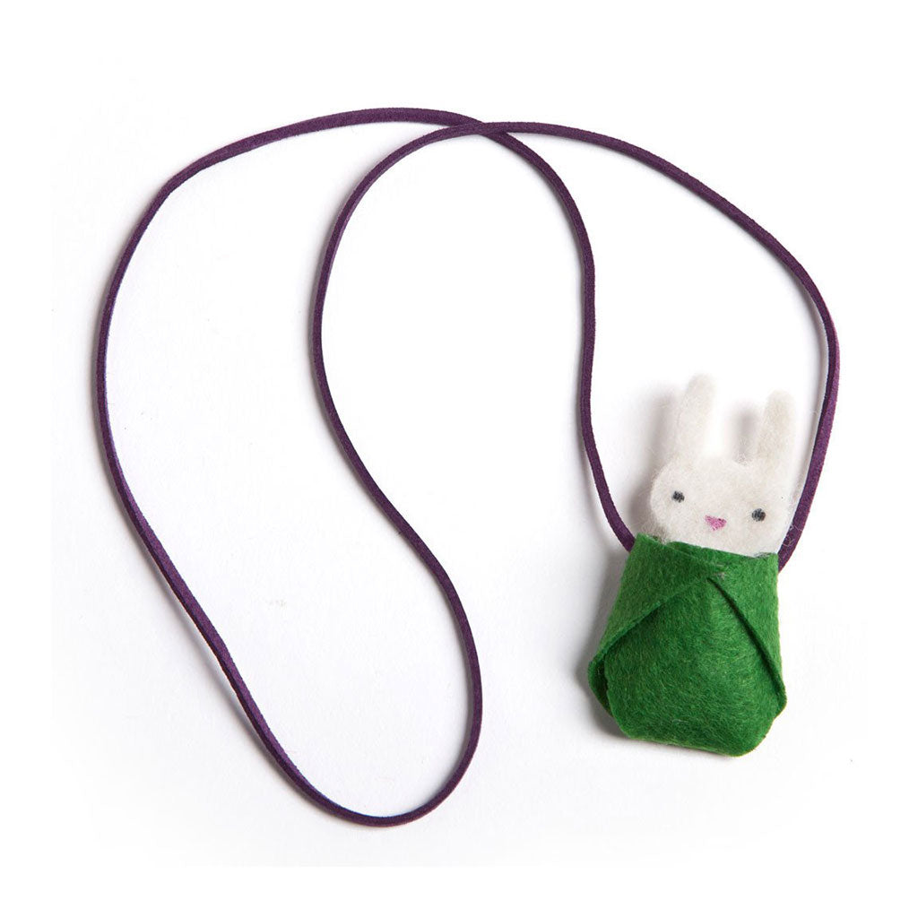 Ann Williams Group - Bunny Necklace Kit - Finished Necklace