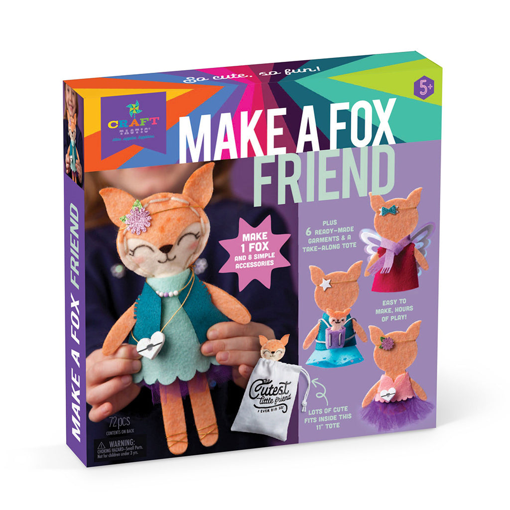 Ann Williams - Craft-Tastic Make a Fox Friend Kit