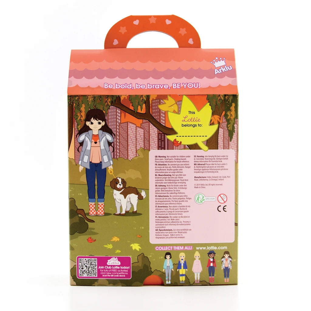 Lottie Doll - Walk in the Park with Dog Toy | Mapamundi Kids