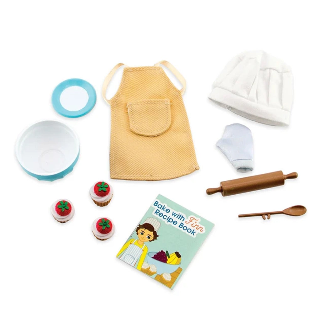 Lottie & Finn - Cake Bake Outfit Accessory Set | Mapamundi Kids