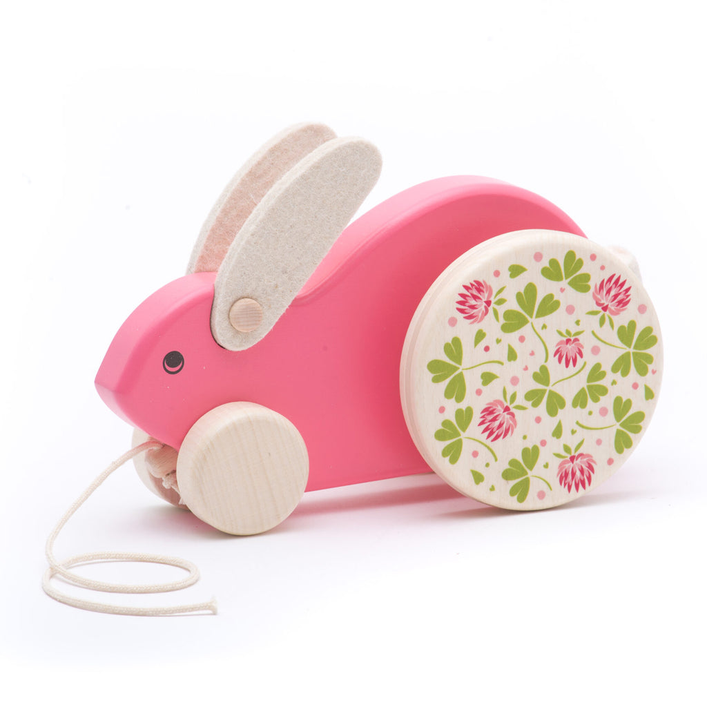 Bajo - Large Wooden Rabbit Pull Toy - Made in Poland | Mapamundi Kids